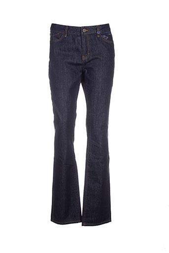 corleone jeans femme de couleur bleu