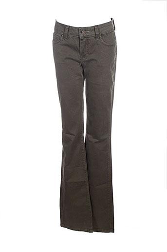 corleone pantalons et decontractes femme de couleur vert