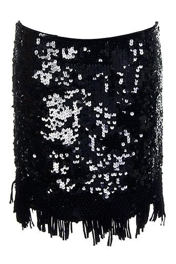 Jupe courte noir AMBRE BABZOE pour femme