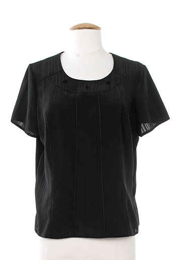 impulsion t-shirts femme de couleur noir