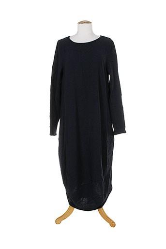 apuntob robes et longues femme de couleur bleu