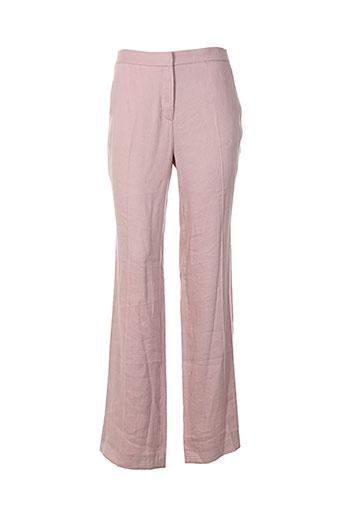 gerard darel pantalons femme de couleur rose