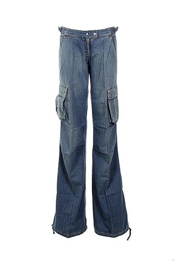 miss et sixty jeans et coupe et large femme de couleur bleu