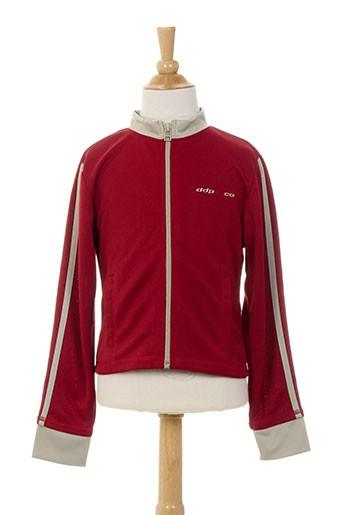 ddp vestes fille de couleur rouge