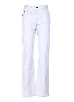 Pantalon casual bleu JEZEQUEL pour homme