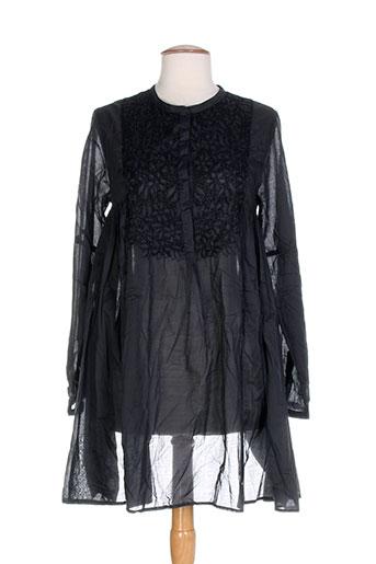 ambre babzoe tuniques femme de couleur gris