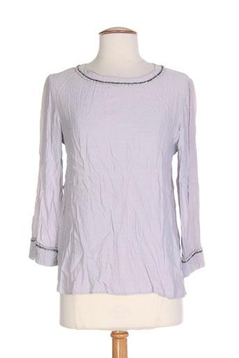 ambre babzoe t-shirts femme de couleur gris