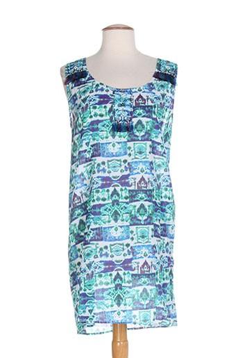 ambre babzoe tuniques femme de couleur bleu