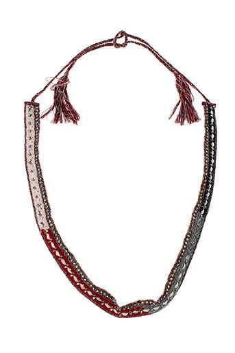 ambre babzoe accessoires femme de couleur rouge