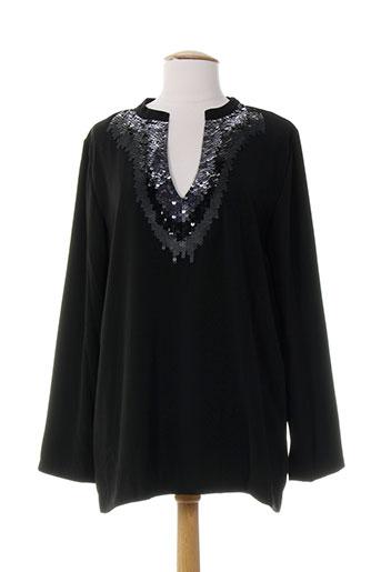 ankorel tuniques femme de couleur noir