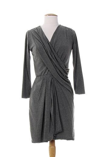 ankorel robes femme de couleur gris
