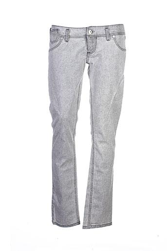 freesoul pantalons et decontractes femme de couleur gris