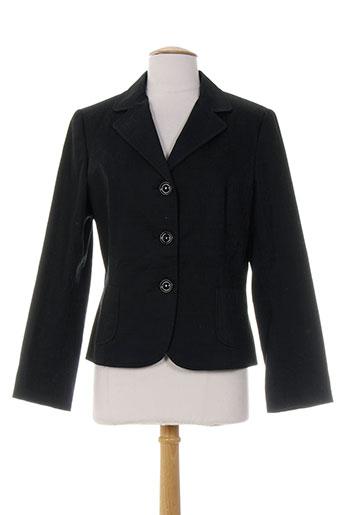 enrique vals vestes femme de couleur noir