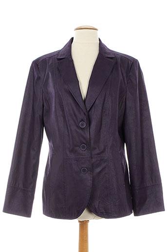 my way vestes femme de couleur violet