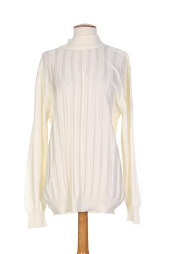 cap 10 ten pulls femme de couleur blanc
