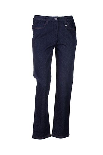 bleu salé jeans femme de couleur bleu