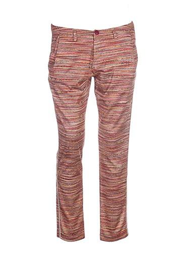 nana nucci pantalons femme de couleur orange