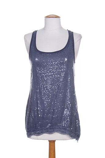 nana nucci t-shirts femme de couleur bleu