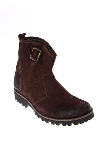 antony et morato boots homme de couleur marron