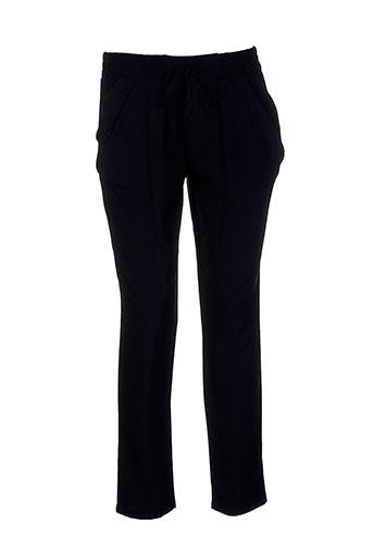allegro pantalons et decontractes femme de couleur noir