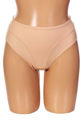 janira slips et culottes femme de couleur beige