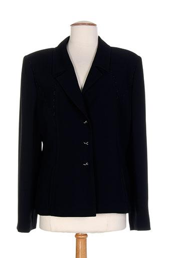 marie clemence vestes femme de couleur noir
