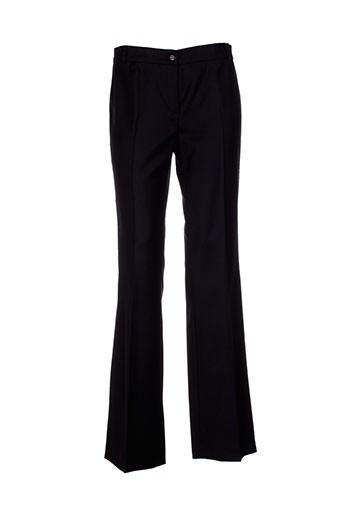escada pantalons femme de couleur noir