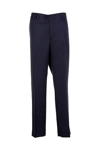 pedro morago pantalons homme de couleur bleu