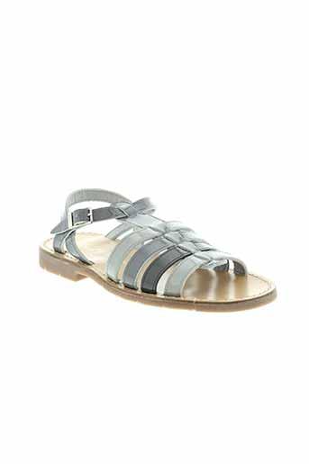 paul&nany chaussures fille de couleur gris
