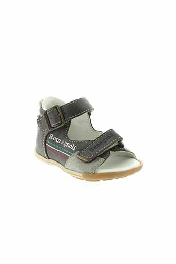 romagnoli sandales et nu et pieds garcon de couleur gris