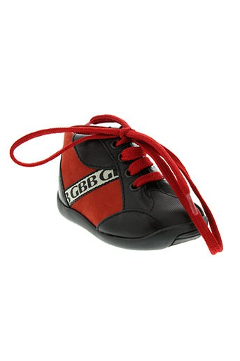 gbb chaussures garçon de couleur rouge