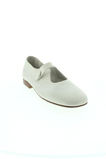 papanatas by eli chaussures femme de couleur blanc