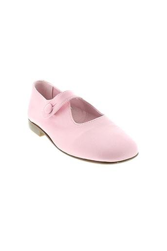papanatas by eli chaussures fille de couleur rose