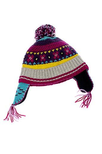 catimini chapeaux et bonnets fille de couleur violet