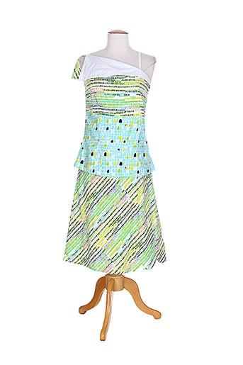 bla-bla robes femme de couleur vert