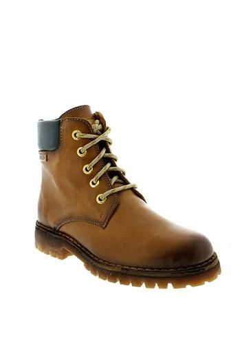 pikolinos boots femme de couleur marron