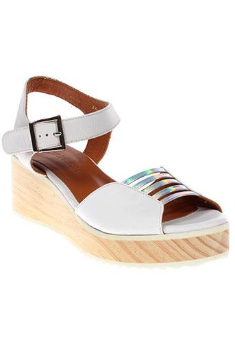 new lovers chaussures femme de couleur blanc
