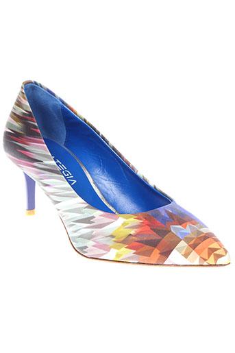 strategia chaussures femme de couleur bleu