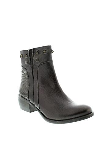 karston boots femme de couleur noir