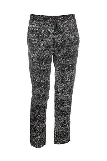 charlie joe pantalons femme de couleur gris