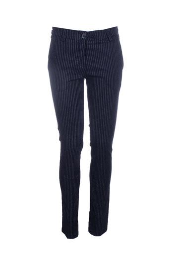 antonello et serio pantalons et citadins femme de couleur bleu