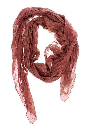 manila grace accessoires femme de couleur rouge