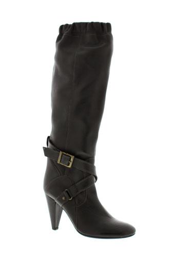fornarina bottes femme de couleur marron