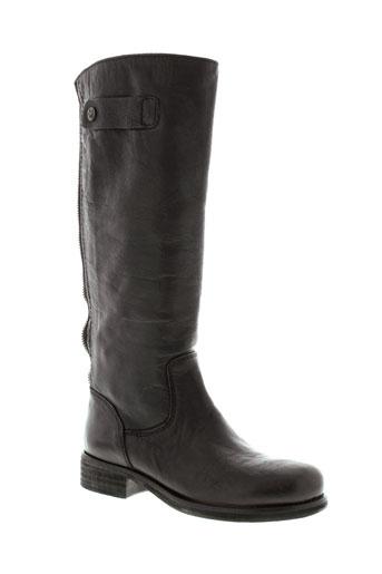 manila grace chaussures femme de couleur marron