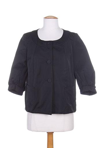 pablo gerard darel vestes femme de couleur noir