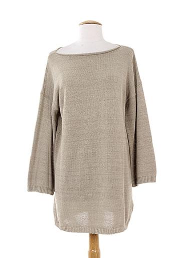 alpha massimo rebecchi pulls femme de couleur gris