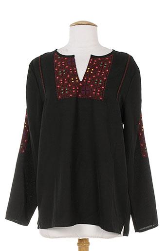 bella jones chemises femme de couleur noir