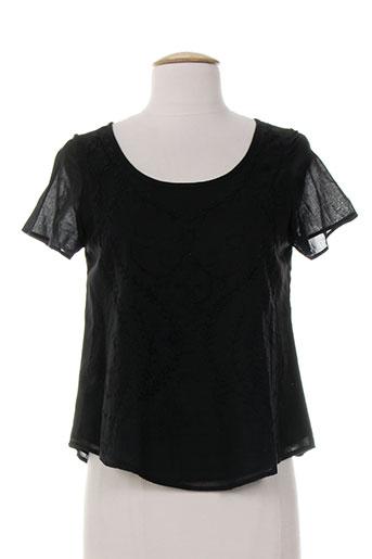pablo gerard darel chemises femme de couleur noir
