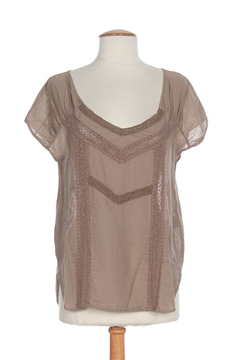 bella jones chemises femme de couleur marron