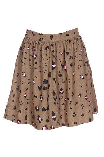 essentiel jupes femme de couleur marron